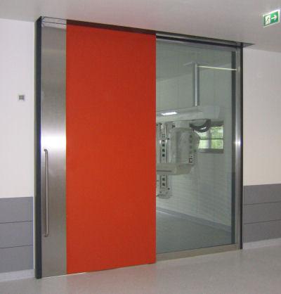 emv_tuer001_n01 & OT-doors \u2013 One-wing Sliding doors \u2013 EMV-Edelstahl